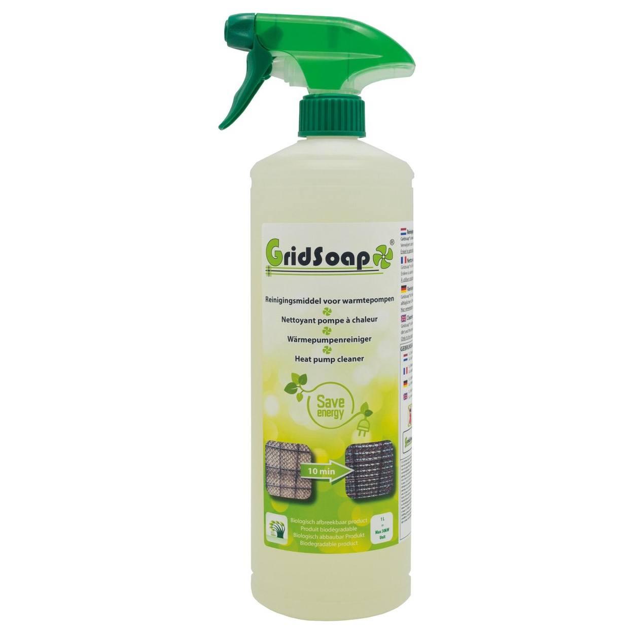 Grielzeep – Reinigingsmiddel voor warmtepompen – 1L