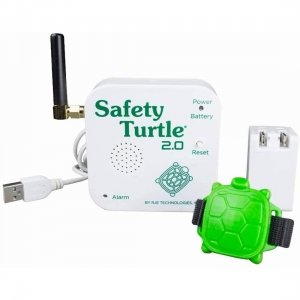 Safety Turtle 2.0 Wateralarm voor uw kind of huisdier