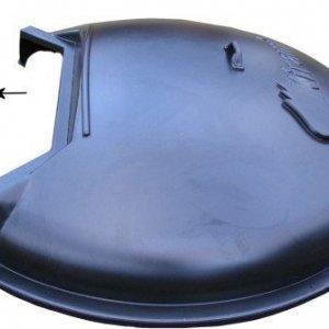 ABS cover binnenkachel - tubdeel