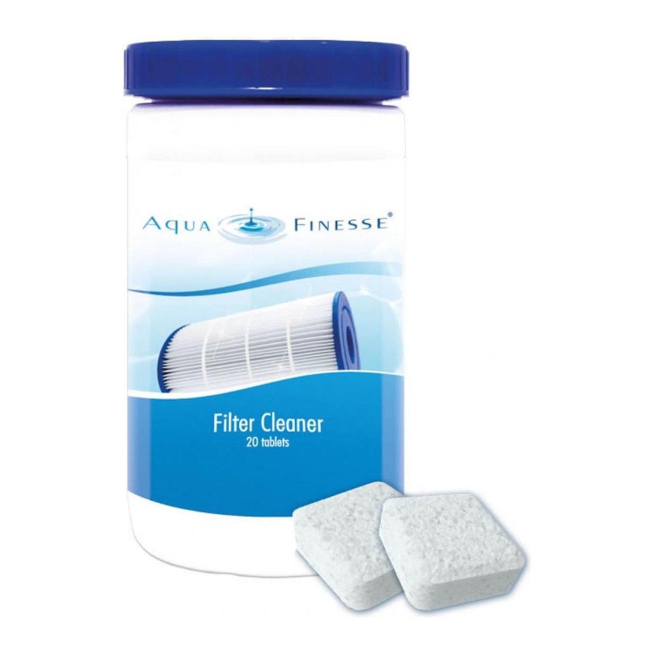 Filter Reiniger - AquaFinesse - 20 Tabletten