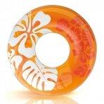 Intex Clear Color opblaasbare zwemband oranje (91 cm)