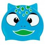 Beco kinder badmuts Siliconen Unisex - Dierenmotief blauw
