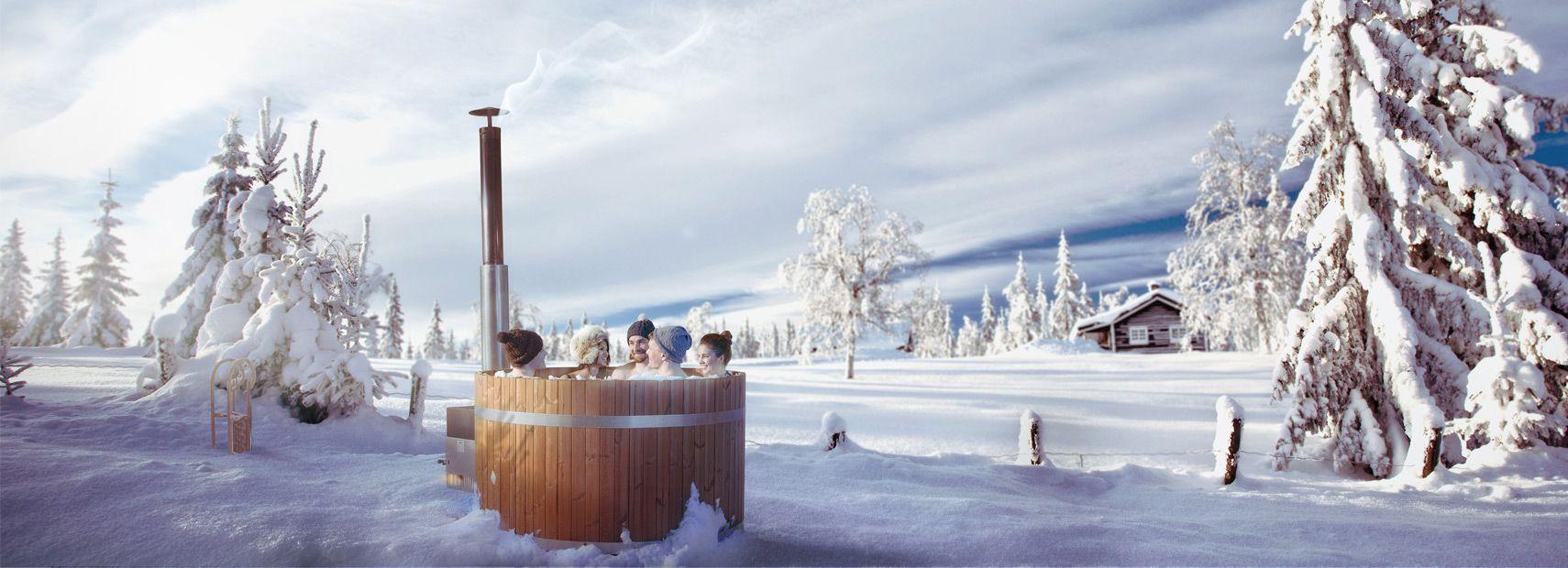 Alles wat u moet weten over uw hottub in de winter